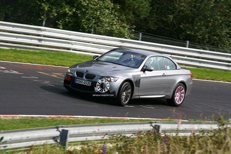 Fotos espías casi definitivas del BMW M3 Cabrio