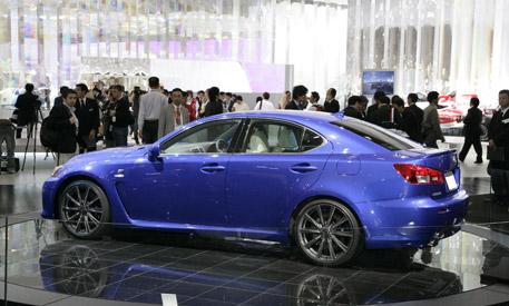 Lexus IS-F, en directo desde Tokio