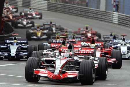 Calendario 2008 de la Fórmula 1