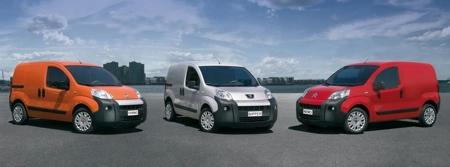 Citroën Nemo, Fiat Fiorino y Peugeot Bipper