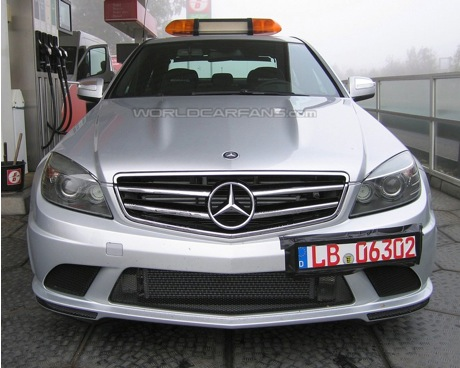 Mercedes C 63 AMG Pace Car