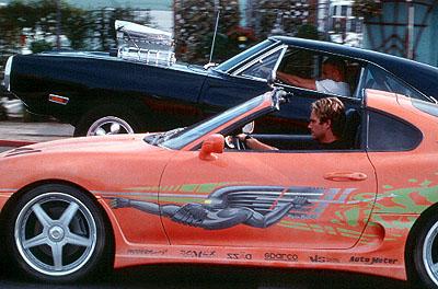 A todo gas: Vin Diesel y Paul Walker