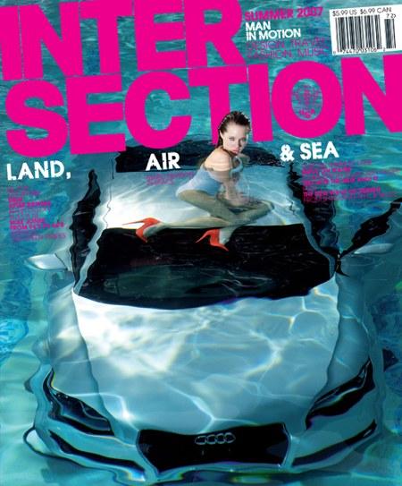 Audi TT bajo el agua