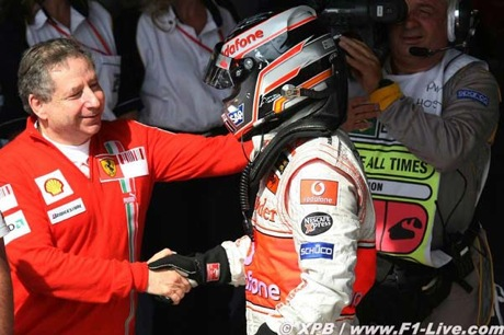 Jean Todt y Fernando Alonso