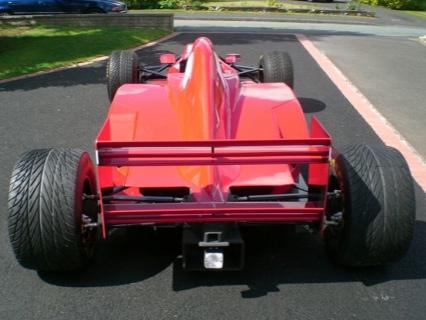 Réplica de un Ferrari F1, disponible en eBay