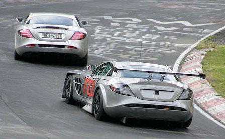 Mercedes SLR McLaren GT