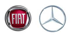 Mercedes y Fiat