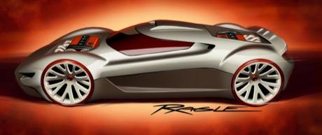 Mitsubishi Double Shotz, prototipo nipón finalista para el concurso de Hot Wheels