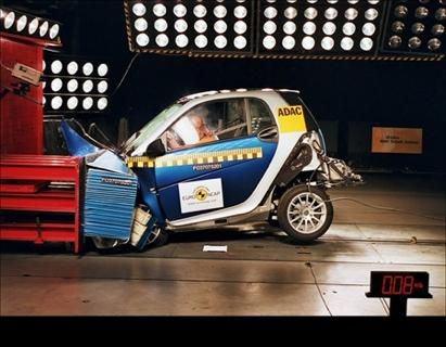 Smart ForTwo Euro NCAP