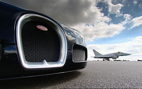 Bugatti Veyron vs EuroFighter