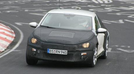 Scirocco en Nürburgring