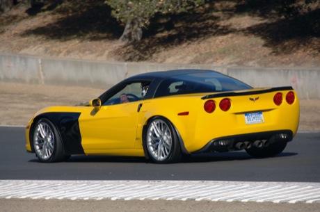 Fotos del Corvette ZR-1 en Laguna Seca