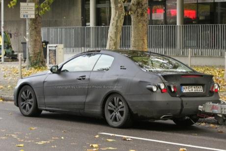 Fotos espías del Mercedes CLK, las más claras hasta la fecha