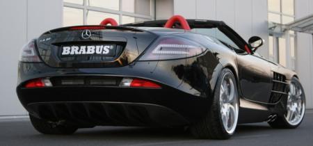 Mercedes SLR McLaren Roadster por Brabus