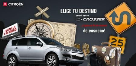 Citroën C-Crosser Sorteo