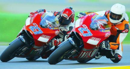 Michael Schumacher Ducati