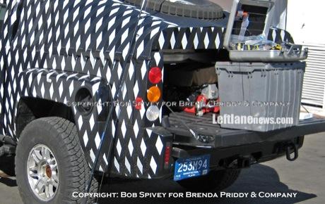 Hummer H3T Pickup, cazado