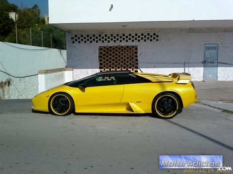 Lamborghini Murcielago preparado