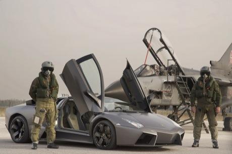 Lamborghini Reventón vs Panavia Tornado