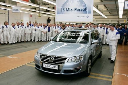 Volkswagen Passat 15 millones