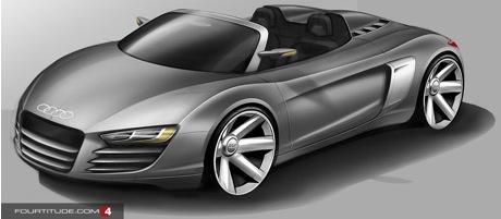 Audi R8 V10 Targa