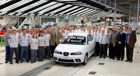 SEAT Martorell 6.000.000