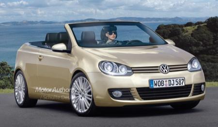 Volkswagen Golf Cabrio 2009