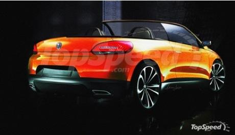 Volkswagen Scirocco Roadster