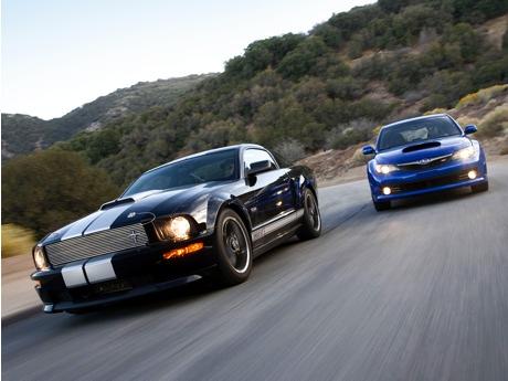 Shelby Mustang GT vs Impreza STi