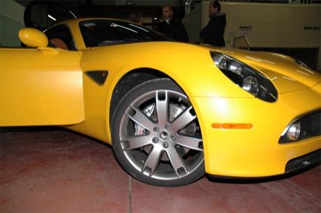 Alfa Romeo 8C en amarillo /></p> <p align=