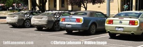 Nuevas fotos espías del Chevrolet Camaro de producción