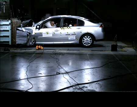 Renault Laguna Euro NCAP