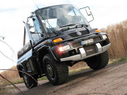 Mercedes Unimog U500 Black Edition
