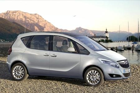 Opel Meriva puertas suicida