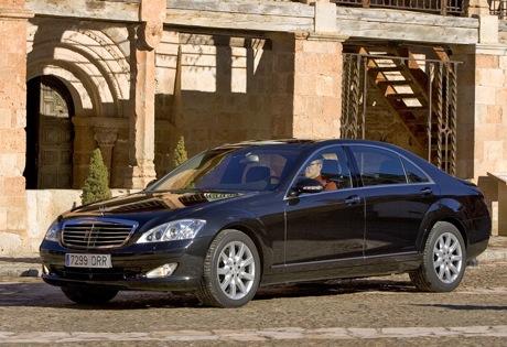 Mercedes Clase S batalla larga