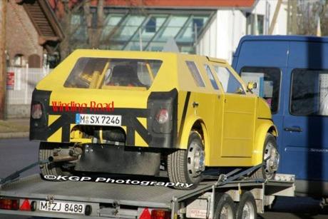 BMW City Car, ¿primeras fotos espía?