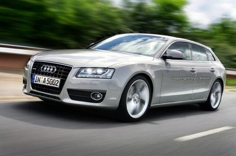 Audi A5 Sportback, nueva recreación