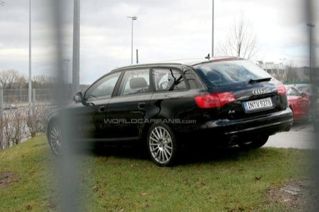 Fotos espía del renovado Audi A6