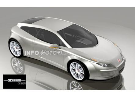 Recreaciones del nuevo Fiat Coupé