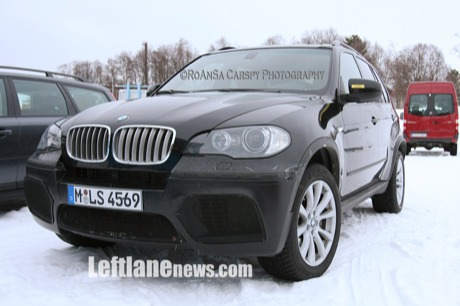 El BMW X5 M podría adelantar el V10 twin-turbo del próximo M5