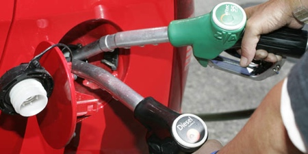 diésel gasolina