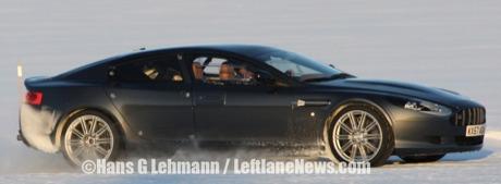 De nuevo: más fotos espía del Aston Martin Rapide
