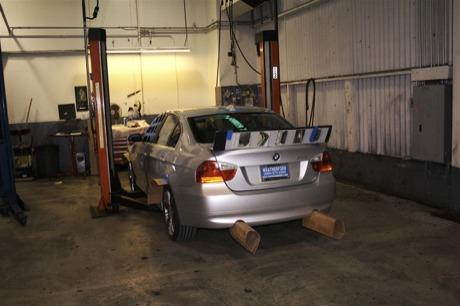 BMW Serie 3 Carton-Tuning