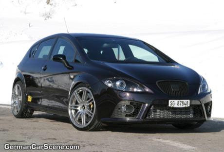 Seat Leon Cupra y VW Golf GTI por OC Tuning