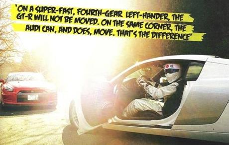 Nissan GT-R y Audi R8