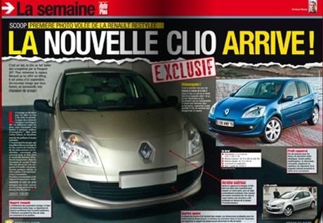 Renault Clio III Facelift