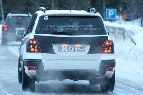 Mercedes GLK de producción
