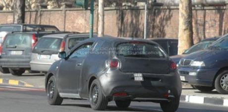 Nuevas fotos espía del Alfa Junior