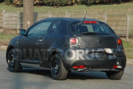 Más fotos espía del Alfa Junior... o quizás del Alfa 149