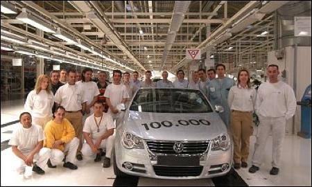 Volkswagen Eos 100.000